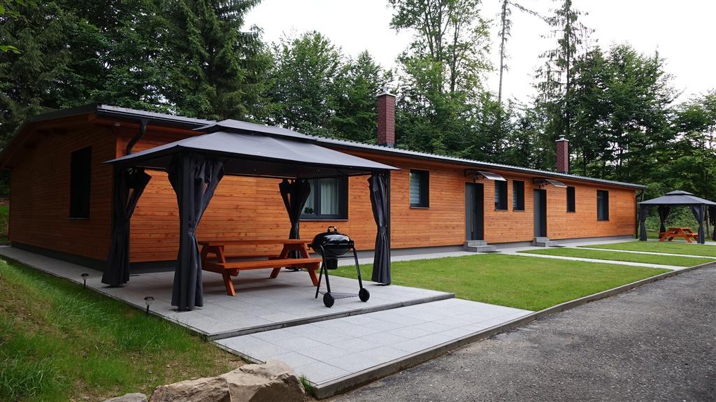 Chata Lesní Lázně Muna - ubytování  Mikulovice -Mikulovice