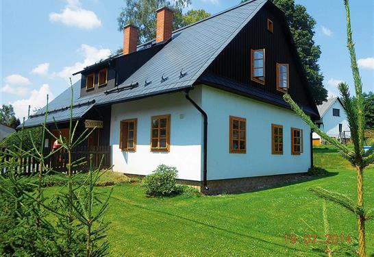 Chata Sýkorova - Suchá Rudná - v říjnu