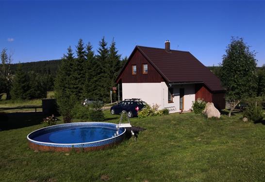 Chata Na bílé stopě - Horní Blatná - Dovolená v Karlových Varech