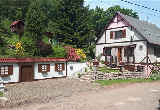 Chalupa Adršpašské skály - Hronov - Ubytování v Adršpachu