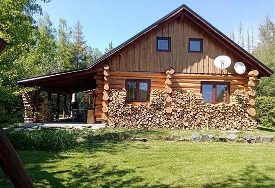 Chata Srub KOMORA - Holčovice - Ubytování Jeseníky