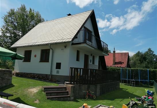 Chata U Dlouhého Pepy - Jílovice - Ubytování Jižní Čechy