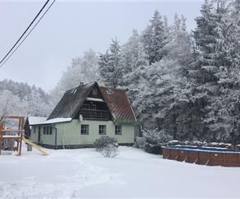 Chata Pod lesem Malá Štáhle