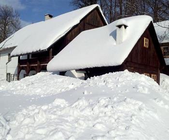 Chalupa Hajmrlov Staré Město pod Sněžníkem
