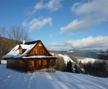 Chata Roubenka Stříbrnice Staré Město pod Sněžníkem