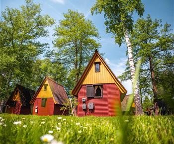 Chatová osada Kemp Sluníčko Staré Splavy